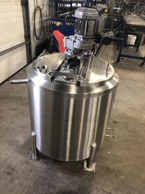 Sample 50 Gallon Batch Pasteurizer
