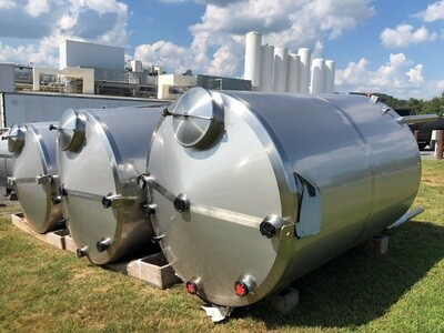 1,500 Gallon CIP Tank - #C0086