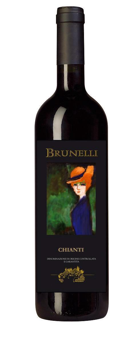 2018 Brunelli Chianti DOCG - Tuscany, Italy - 12btls x750ml