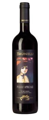 2018 Brunelli Poggio Apricale IGT - Tuscany, Italy - 12 btls x 750ml