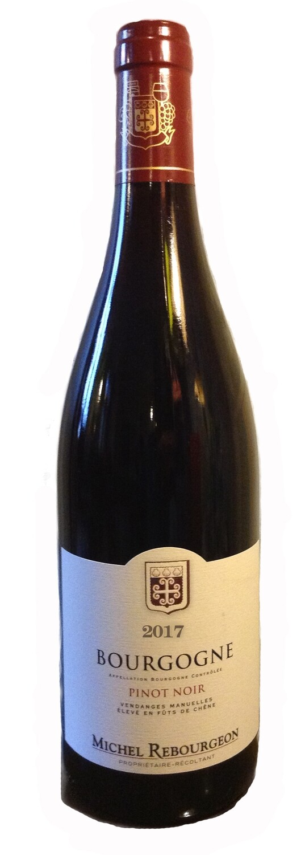 2017 Rebourgeon Pinot Noir - Burgundy, France - 12 btls X 750ml