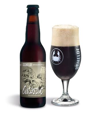 Schelde Brewery Oesterstout Black stout  - Belgium - 24btls x 330ml