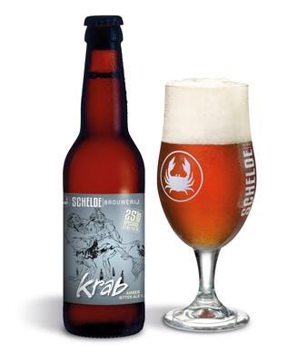 Schelde Brewery Krab Amber Ale  - Belgium - 24btls x 330ml
