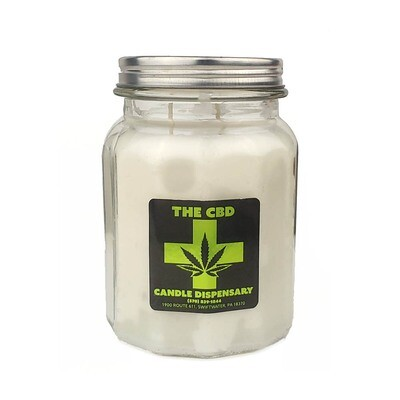 Fresh Linen CBD Candle