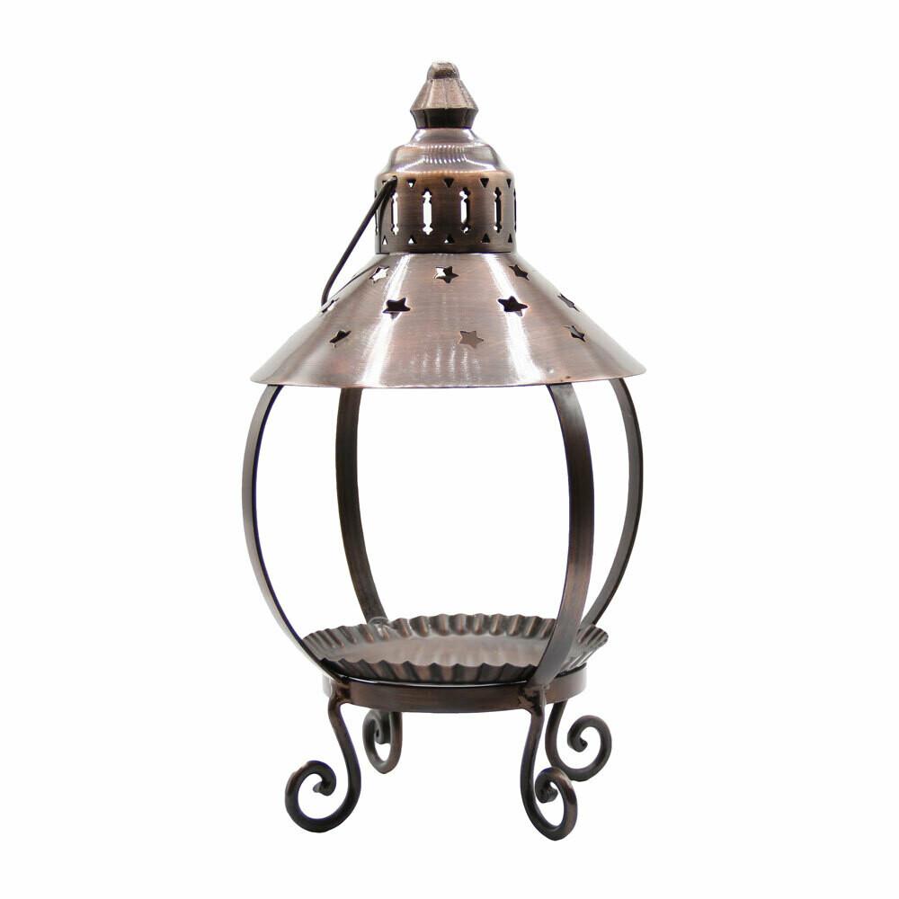 Decorative Lantern Copper Brushed