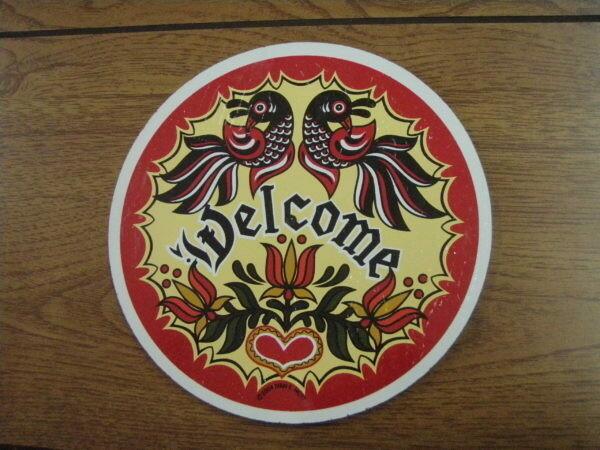 Americana Double Distelfink Welcome