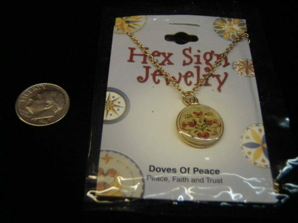 Doves of Peace necklace