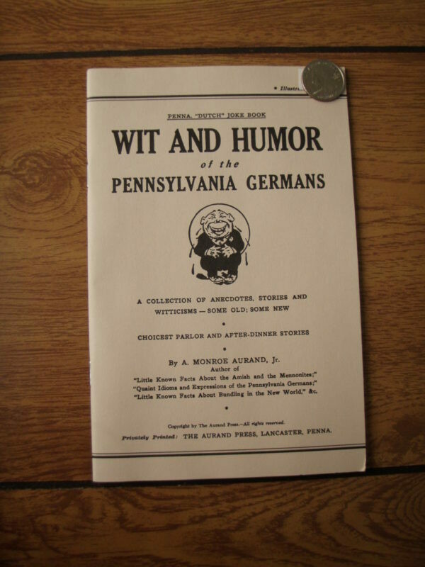 Wit and Humor of the Pennsylvania Germans