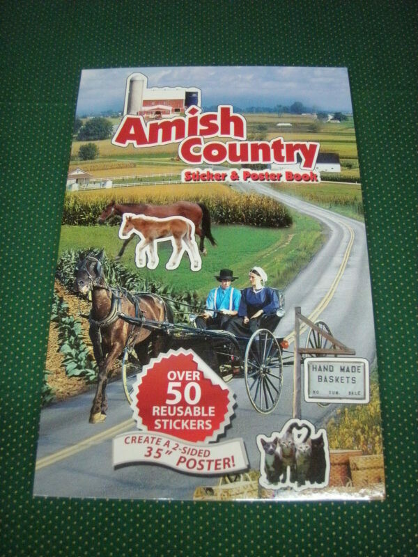 Amish Country sticker & poster book