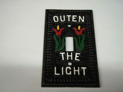 Outen the Light Switch Plate (Single)