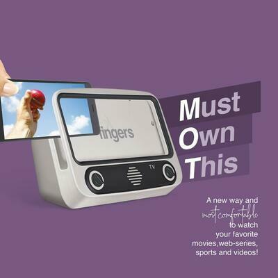 FINGERS My-Own-TV (MOT) Portable Speaker