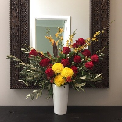 Large Arrangements in Vase ($150 - $250)