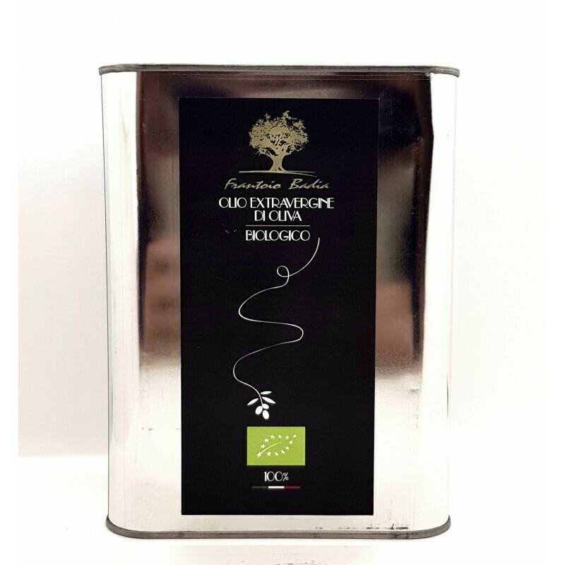 Huile d'olive BIO de Calabre Frantoio Badia 5lt