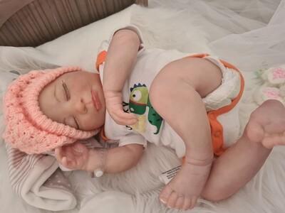 Real born Sage sleeping