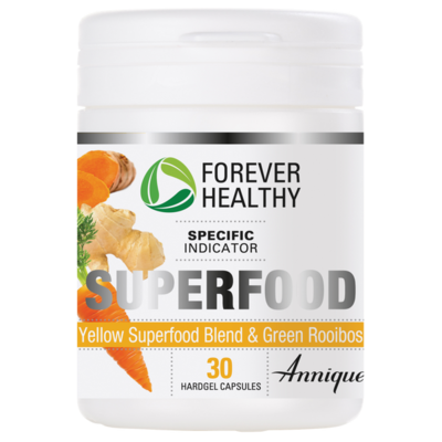 Yellow Superfood and Green Rooibos – 30 Hardgel Capsules