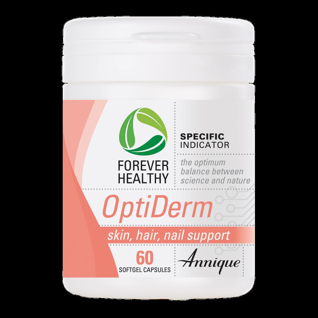 OptiDerm-Skin-Hair-Nail-Support 60 Hardgel capsules