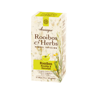 Rooibos, Rosehip and Horsetail tea 50g