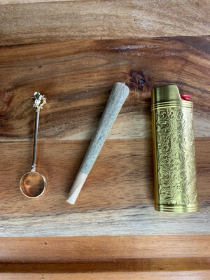 Gold Joint Clip