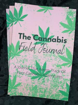 The Cannabis Field Journal (pink)