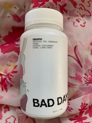10mg Bad Days CBD Chews (50 Count)
