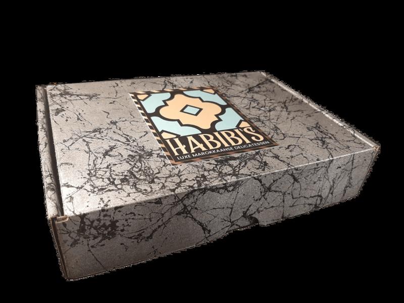 Medium Luxe Cadeau Box | 3 soorten | ca. 21 koekjes