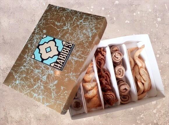 Large Luxe Cadeau Box | 6 soorten | ca. 45 stuks