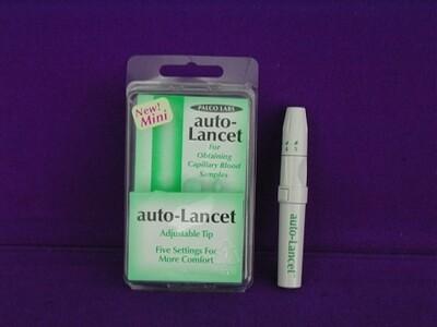 Mini Auto Adjustable Lancing Pen