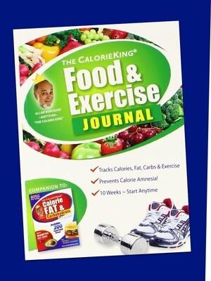 The CalorieKing Food & Exercise Journal