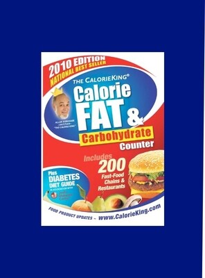 Calorie King Fat & Carbohydrate Counter - Diet Guide & Counter