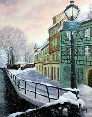 Colmar sous la neige/C.M