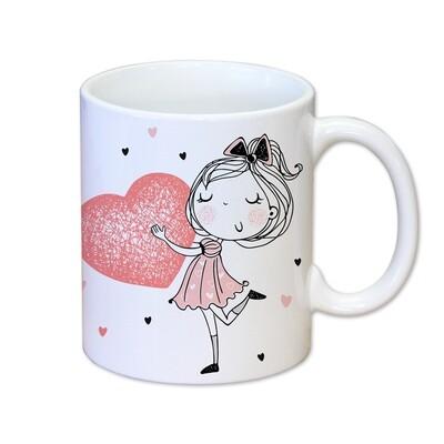 Tasse - Je t'aime fort maman