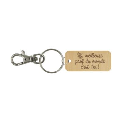 Porte-clé - La meilleure prof du monde c'est toi!