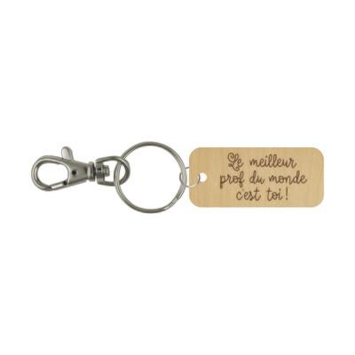 Porte-clé - Le meilleur prof du monde c'est toi!