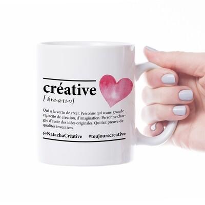 Tasse céramique - Créative