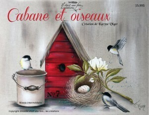 Cabane et oiseaux/K.V