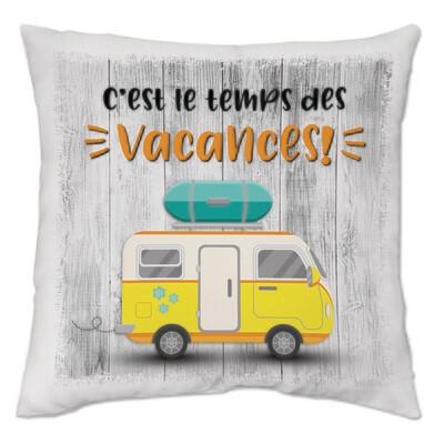 Collection Camping - C'est le temps des vacances - jaune
