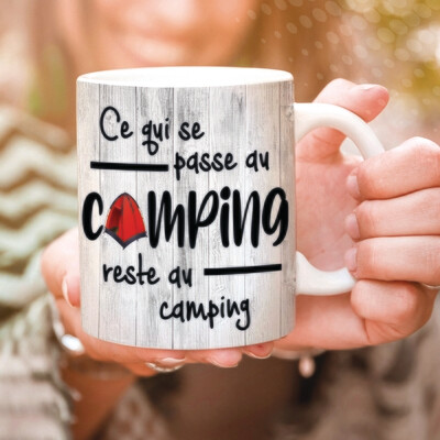 Collection camping - Ce qui se passe au camping...