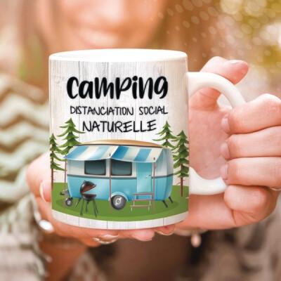 Collection camping - Distanciation social naturelle