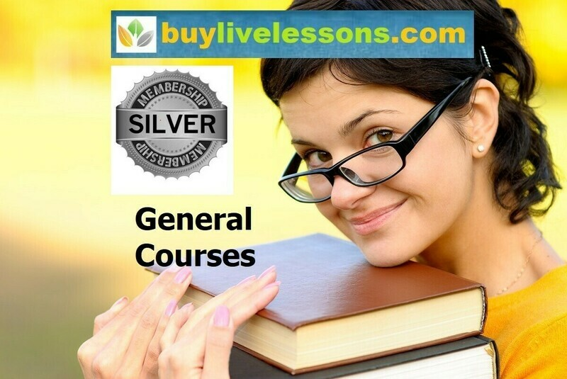 BUY 80 GENERAL LIVE LESSONS FOR 45 MINUTES EACH.