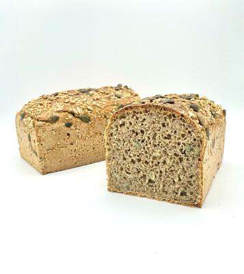 Pane al Farro Monococco, Segale e Semi in Cassetta