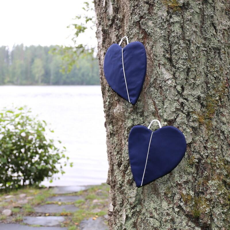 Taskupatalappu, tumman sininen