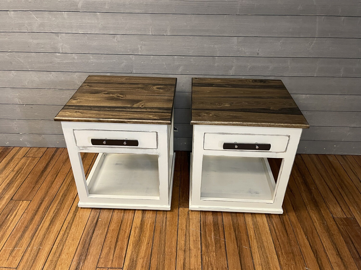 End Table Built-In Dog Bed