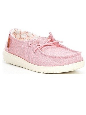 Hey Dude Wendy Youth Linen Cotton Candy MS