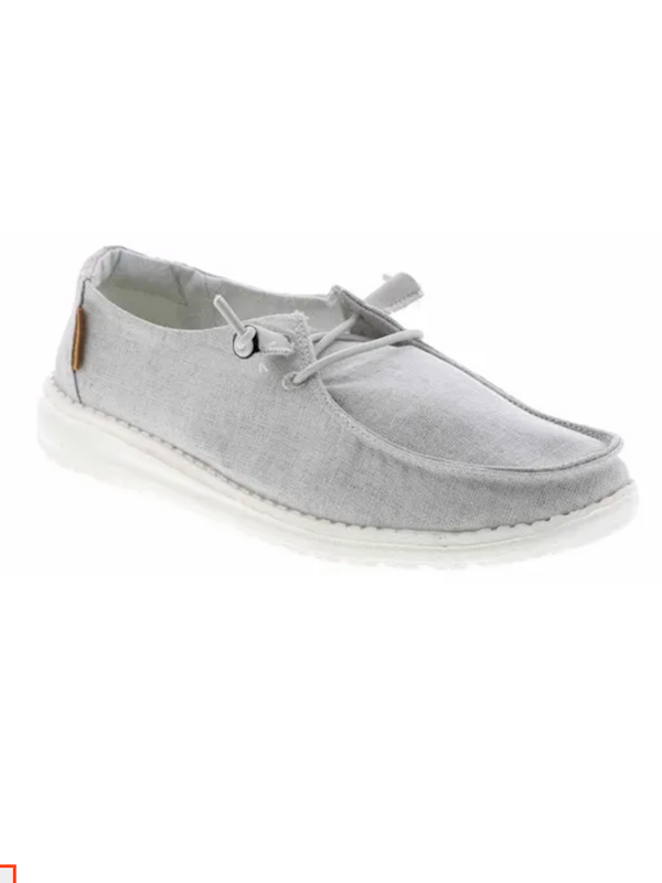 Hey Dude Wendy Chambray Light Grey WP