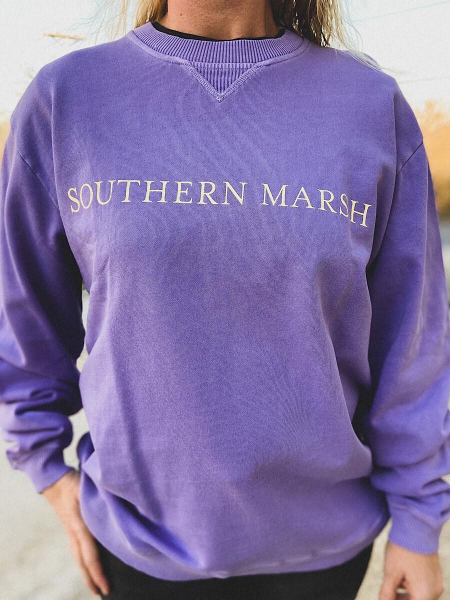 Southern Marsh Purple Seawash Sweatshirt
