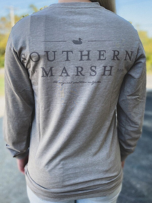 Southern Marsh Burnt Taupe L/S