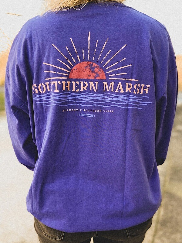 Southern Marsh Indigo Sunset L/S