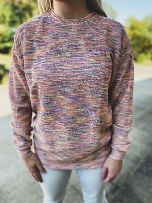 Southern Marsh Rainbow Sunday Morning Sweater