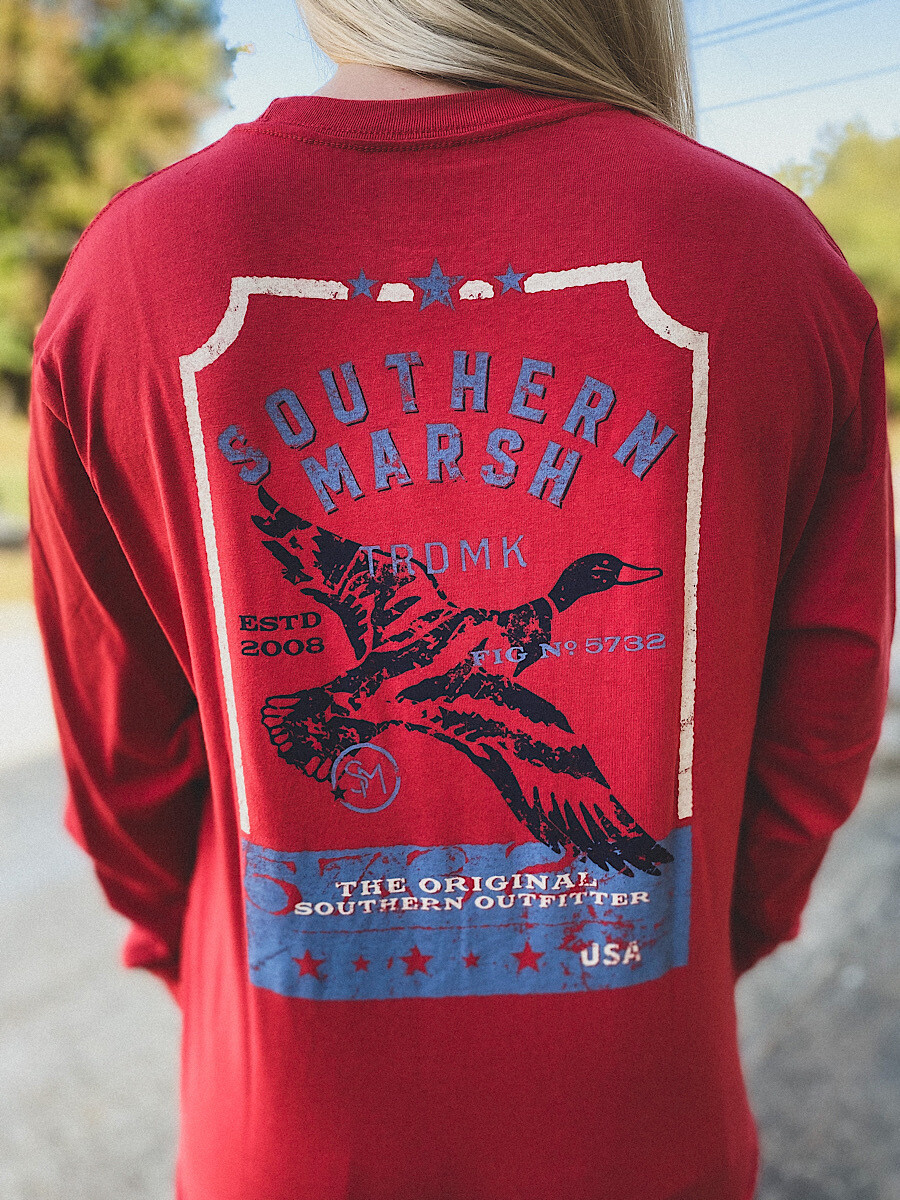 Southern Marsh Rust Duck L/S