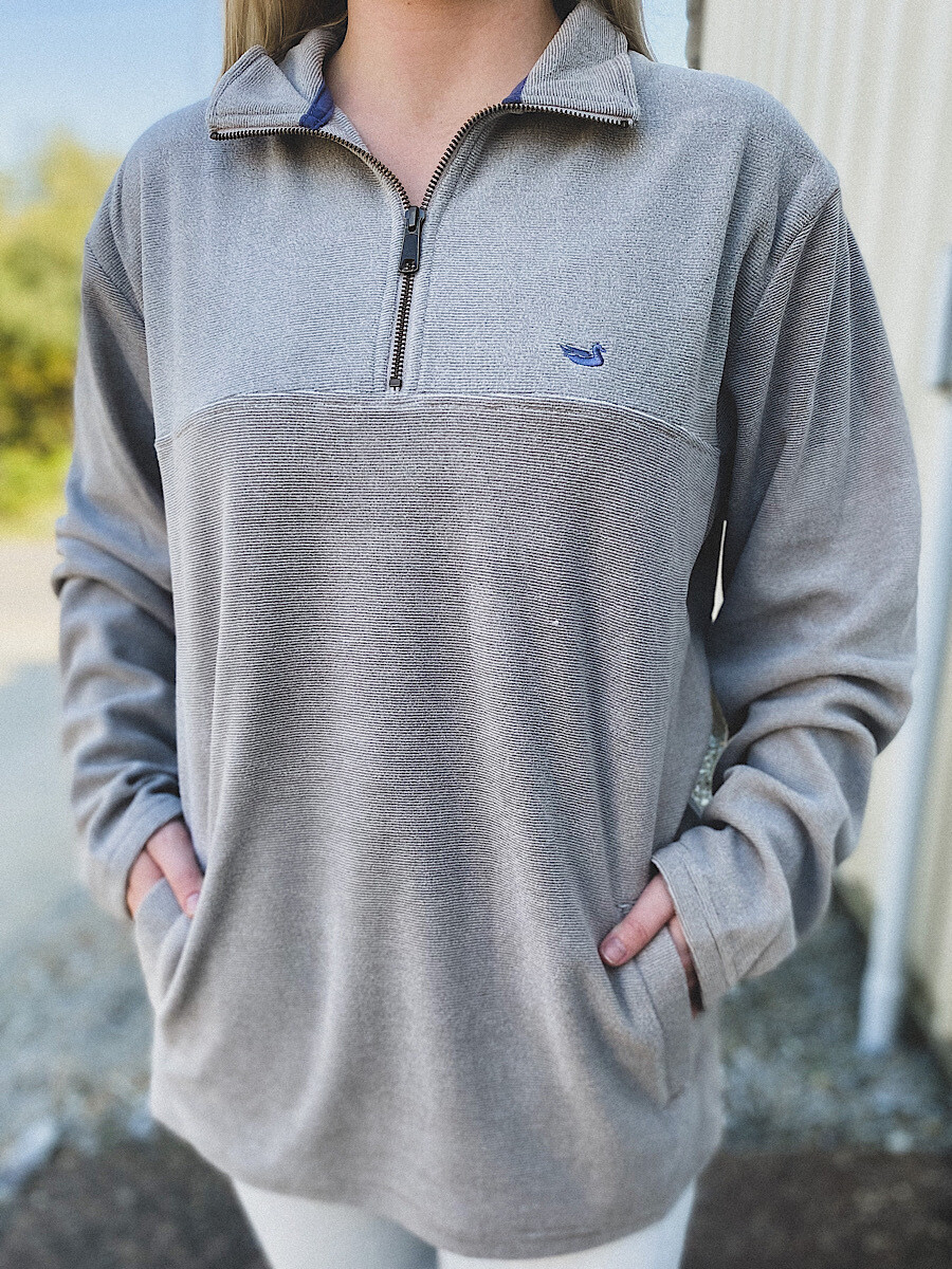 Southern Marsh Burnt Taupe Copper Trail Pullover